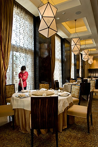 Zi Yat Heen Cantonese dim sum restaurant at the Four Seasons Hotel, Venetian Macau, Cotai Strip, Macau SAR, China on November 12, 2008. Photography by Forbes Conrad.