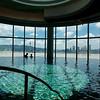 Swimming pool at the Altira Hotel in Macau.