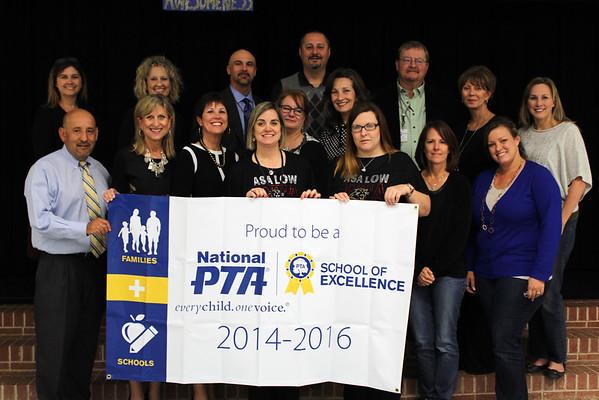 Asa Low Intermediate 2014 PTA Recognition