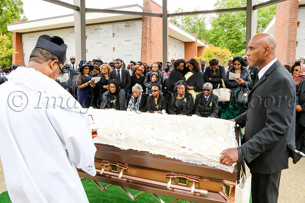 Interment for Miss Ellen Antoinette Melton, II