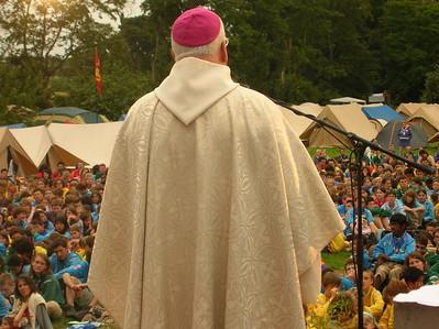 Prêche de l'évêque