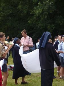 La Chesnoy - Centenaire du scoutime 24 Juin 2007 022