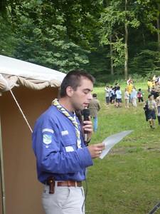 La Chesnoy - Centenaire du scoutime 24 Juin 2007 001