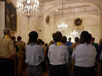 Des représentants de toutes les associations scoutes et guides