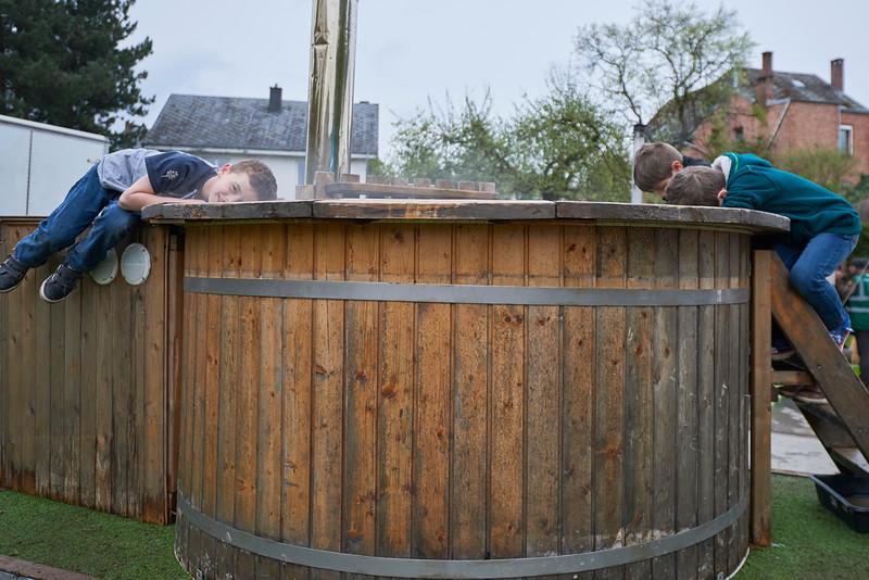 Balladins et bain