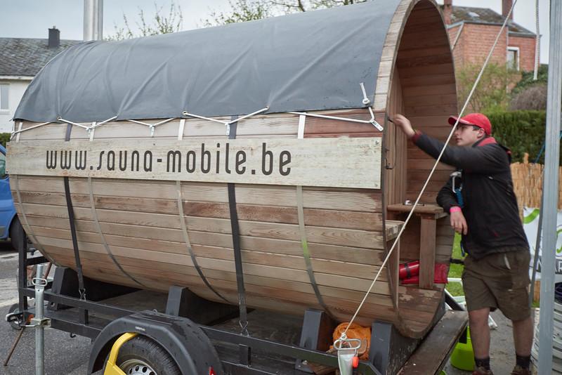 Sauna mobile ! Au feu de bois