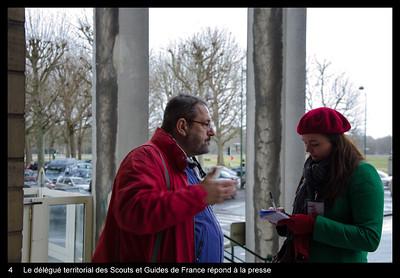 Le délégué territorial des Scouts et Guides de France répond à la presse