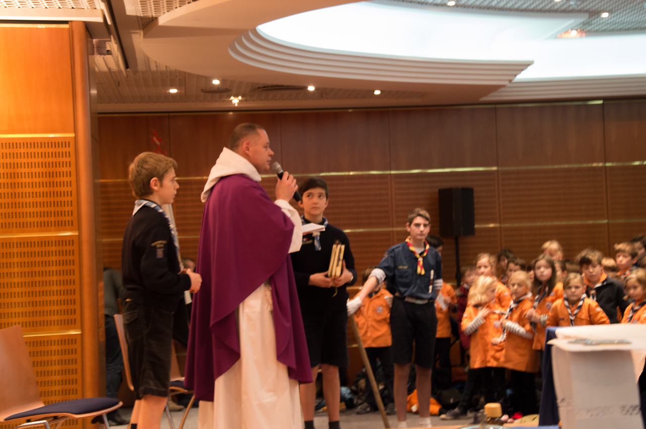 messe scouts marins