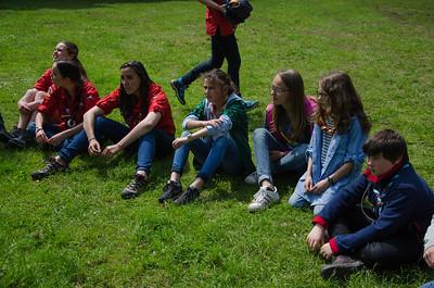 Moment sur le scoutisme français