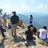 RESESS and Geo-Launchpad interns learn from CU grad students atop Sugarloaf Mountain, led by Kevin Mahan. Boulder County, CO, June 18, 2016. (Photo/Aisha Morris, UNAVCO)