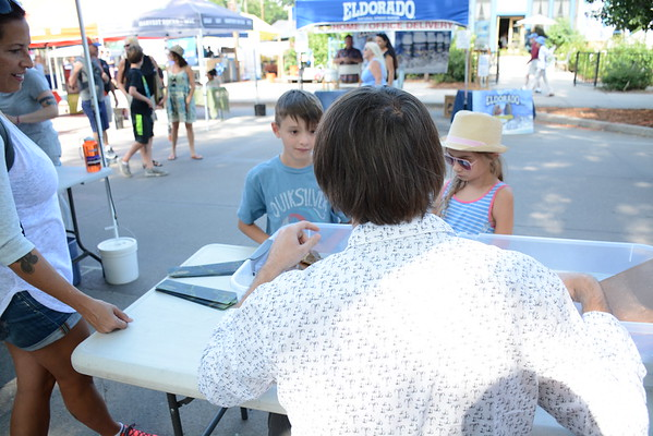 UPoPP at the Boulder County Farmers Market 2016