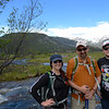 Geolaunchad interns Amye Pedrino and Dylan Blanchard explore Rocky Mountain National Park with their mentor Andrew Caldwell during the RMNP all intern fieldtrip. Rocky Mountian National Park, Colorado, June 2017. (Photo/Ellie Ellis, USIP Intern)