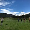 2017 UNAVCO interns enjoy the day at Rocky Mountain National Park. (Photo/Kelsey Russo-Nixon, UNAVCO)