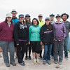 GeoLaunchpad and RESESS interns pose  while on a field trip. (Photo/Christopher Chase Edmunds, UNAVCO)