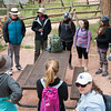 UNAVCO interns from the RESESS and GeoLaunchpad programs gather before an educational hike in Nederland, Colorado. (Photo/Christopher Chase Edmunds, UNAVCO)