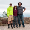 RESESS interns with UNAVCO pose while on a field trip near Flagstaff Summit. (Photo/Christopher Chase Edmunds, UNAVCO)
