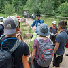 2018 RESESS and GeoLaunchpad interns had the opportunity to interact with CU Boulder graduate students and chat about geology during the CU Mountain Research Station trip.  June 30, 2018.  Boulder, Colorado.  (Photo/Aisha Morris, UNAVCO)