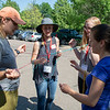 USIP and Geo-Launchpad interns participated in a day of ice-breaker activities at UNAVCO during a leadership and community-building workshop conducted by Deb Kulscar, Experiential Learning Associates. Boulder, CO. June 13, 2018. (Photo/Aisha Morris, UNAVCO)