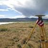 GPS base station at Boulder Reservoir.
