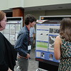 2016 RESESS and Geo-Launchpad interns present their summer work during a joing Front Range Intern Poster Session held at UCAR Center Green on July 28, 2016. Boulder, Colorado. (Photo/Aisha Morris, UNAVCO)