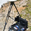 Ian's pictures of the Geo-Launchpad polar team surveying St. Mary's Glacier using GPS. Idaho Springs, CO. July 7, 2016.