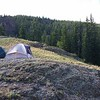 Camping in the Field