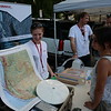 USIP interns participating PoPnet this summer performed outreach demonstrations at the Boulder County Farmers Market. July 27, 2016.