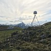 GPS station AV14 on Akutan Island. Photo Credit: Ellen Knappe