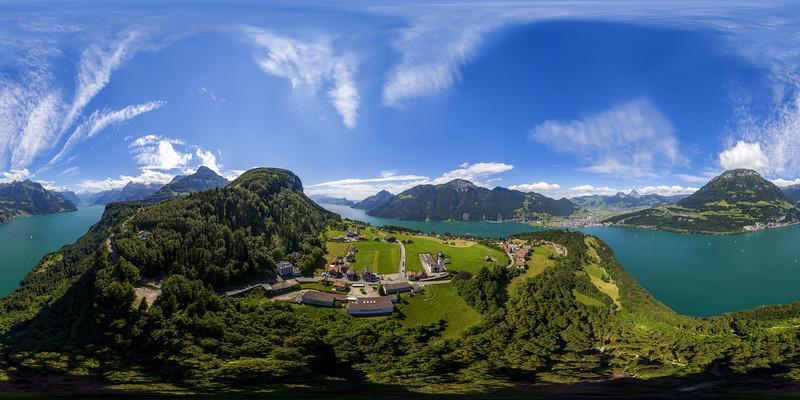 Aerial view from Seelisberg
