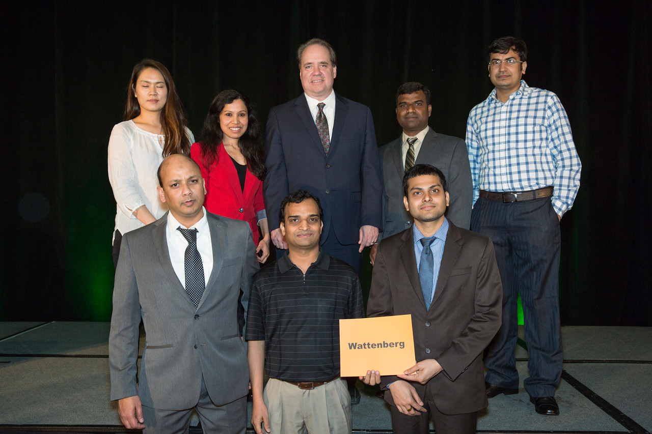 Speakers and Attendees during Scholar-in-Training Award Reception