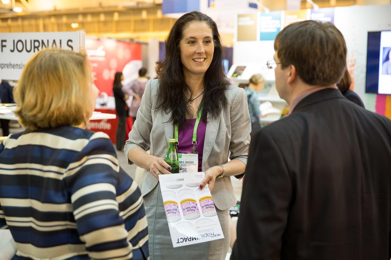 Karen Knudsen, PhD, during Meet-the-Editor:  Molecular Cancer Research