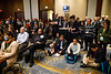 Speakers and attendees during Cancer Immunology Working Group (CIMM) Town Hall Meeting and Reception
