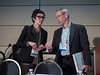Attendees and leadership during Chemistry in Cancer Research Working Group (CICR) Town Hall Meeting and Reception