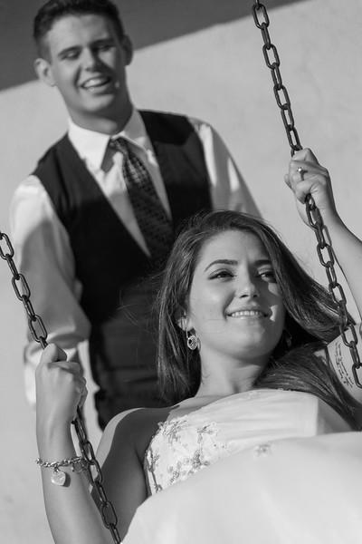Bride & Groom Swing