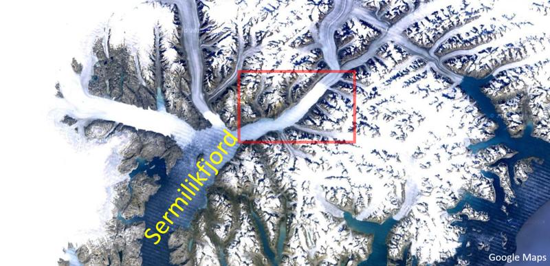 Greenland Map Sermilik 2