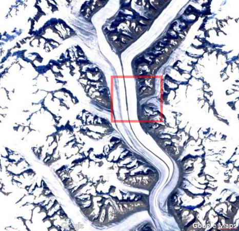 Greenland Map Sortebrae 3