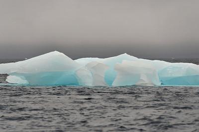 Iceberg at Cape Fligely, Rudolph Island