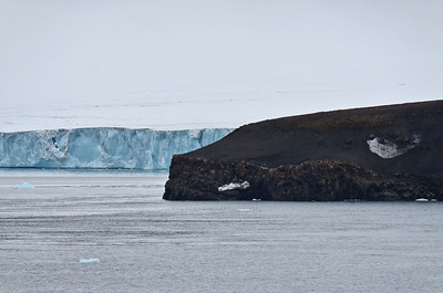 Cape Fligely from north, Rudolph Island, Franz Josef Land