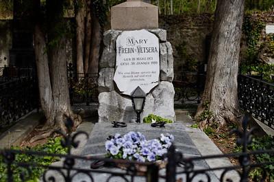 Tomb of Mary Vetsera, beloved of Kronprinz Rudolf