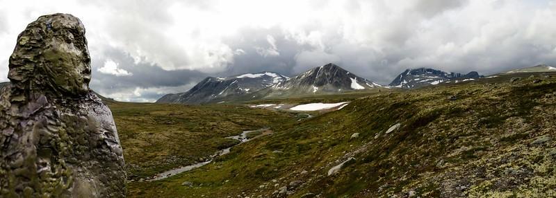 Dovrefjell rain clouds
