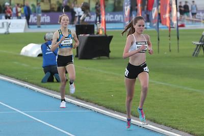 Zatopek 10 U20 Womens 3000Mtr 2017