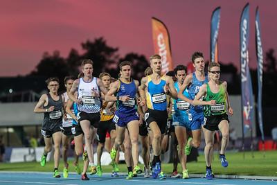 Zatopek 10  Mens U20 3000 mtrs  2017