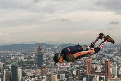 Base Jumping Day 2 KL Tower  Kuala Lumpur 2017