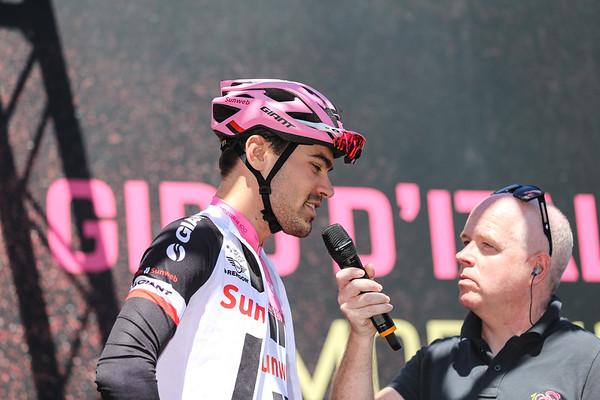Giro  Stage 18 start