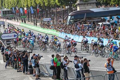 Tour De France 2016 Paris