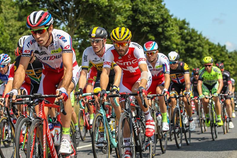 Tour Defrance Stage 6 Abbeville Start