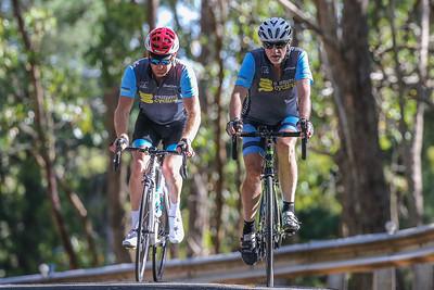 TDU Mt Lofty Ride Mummu 2018