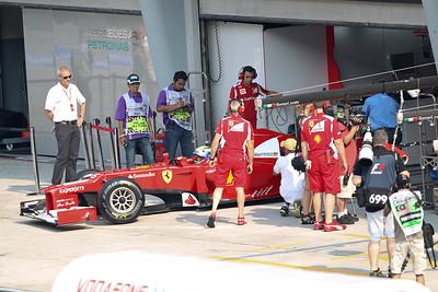 F1 GP Malaysia 2012
