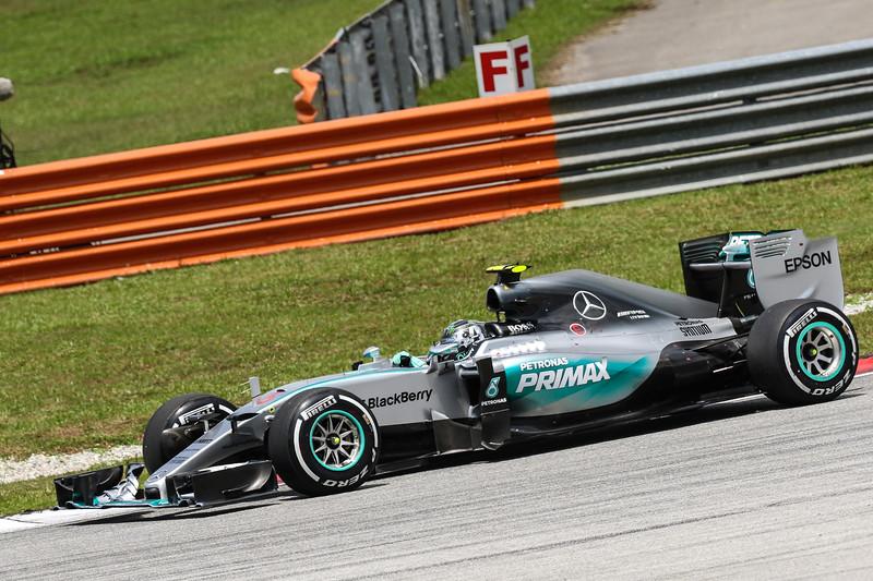 Malaysian Formula 1 GP Race