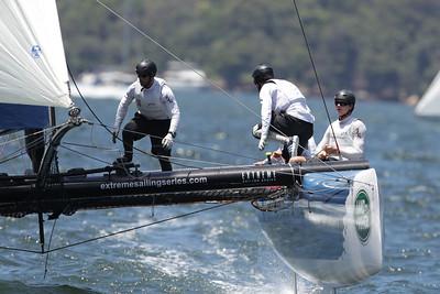 Extreme Sailing Sydney 2014 Final